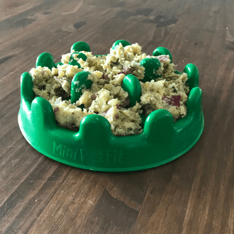 comida congelada para cachorro