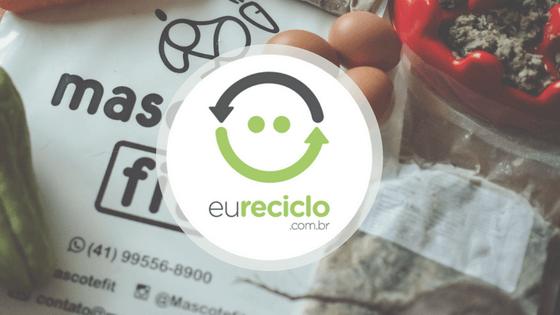Mascote Fit + Selo EuReciclo = todo nosso plástico compensado!