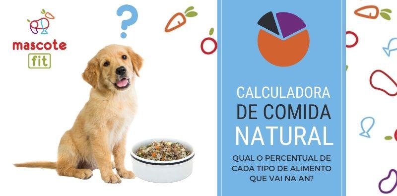 percentual de proteina vai na alimentação natural