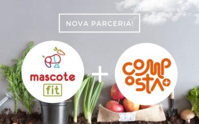 100% Dos resíduos orgânicos compostados? Conheça mais sobre a Composta+, nova parceira da Mascote Fit!
