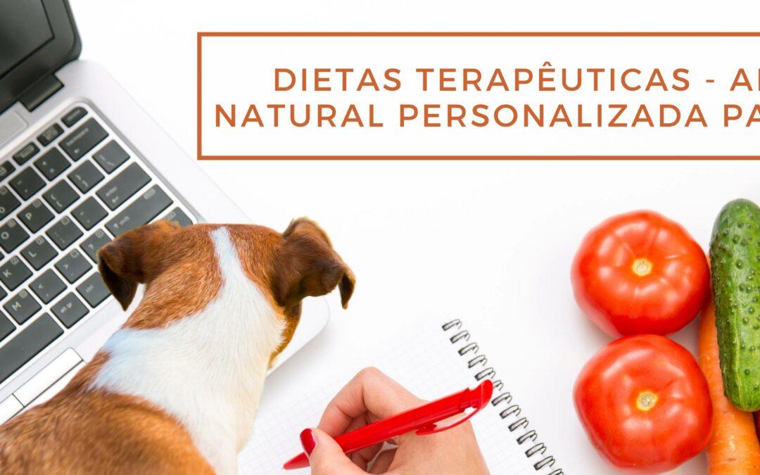 Alimentação natural personalizada para cachorro (dietas terapêuticas)